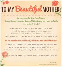 Beautiful Mum Quotes Best Of To My Beautiful Mother Pictures Photos And Images For Facebook