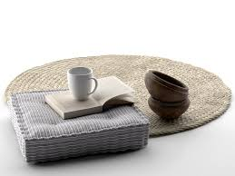 Seat Pillow Book Cup and Rug