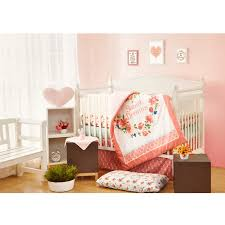 7 piece sweet dreams crib bedding set