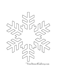 Printable Snowflake Patterns How To Fold A Paper Template