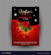 Christmas Party Flyer Design 1611