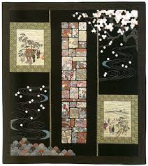 Japanese fabric: quilt patterns, motifs, sashiko, more - Stitch ... & Scenes by a Garden Path by Kitty Pippen Adamdwight.com