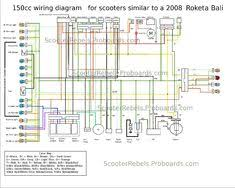 8 best scooter wiring diagram images 150cc scooter circuits 150cc scooter wiring diagram 150cc scooter dc circuit kawasaki vulcan date diagram