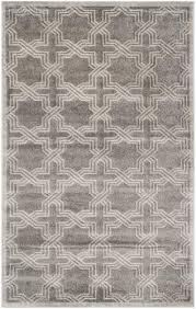 safavieh amherst gray indoor outdoor area rug 6 x 9