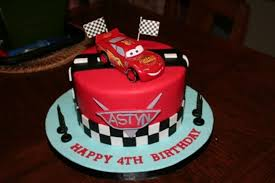 Cars Themed Birthday Cake Cakecentralcom