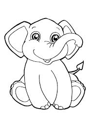 Disegni Di Elefanti Da Colorare Fredrotgans