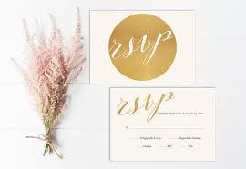 Modern Wedding Rsvp Card Printable Gold Rsvp Insert Rsvp