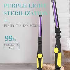 Değnek antiseptik ultraviyole antibakteriyel ampul LED lamba odası araba  USB şarj pil şarjlı ışık 3W ışık küçük UV lambası|Holiday Lighting