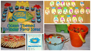 Under The Sea Birthday Chart How To Throw An Ocean Themed Birthday Party For Kids Holidappy
