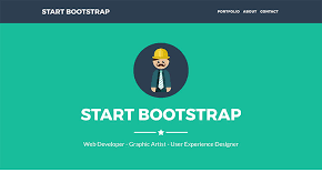 Single Page Website Template Delectable Free Bootstrap One Page Themes Start Bootstrap