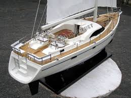 oyster 72 model yacht stern view