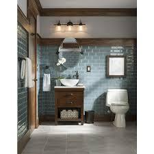 Single Vessel Sink Bathroom Vanity Style Selections Cromlee Bark Vessel Single Sink Poplar Bathroom