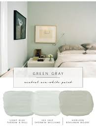 Interiors Our The Coco Kelley Guide To The Best Neutral Paint Colors That Arent White Green Grays Pinterest Our Guide To The Best Neutral Paint Colors that Arent White For