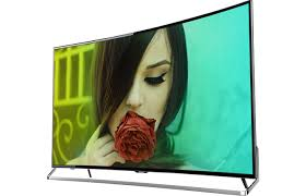 sharp 65 inch 4k tv. the technology of quantum dots. tv display sharp 65 inch 4k tv