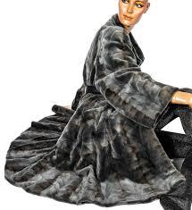 mink coat sheared mink coloured fur coat vintage