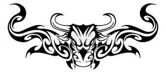 Vektorová Grafika Kmenové Býk Umění Znamení 88698708 Fotobanka