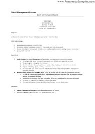 resumresumretail operations manager resume sample resume for retail manager zaxa tk