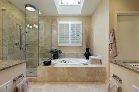 Bathroom Tub Shower Tile Ideas Dark Wood Textured Stone Floor Tiled
