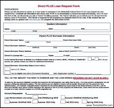 Parent Plus Loan Application Form - Www.franklindes.us