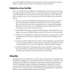 Sample Small Business Plans Small Business Administration Business Plan Template New 27 Small ...