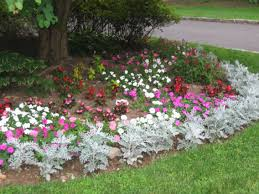 Small Picture Flower Bed Ideas Small Corner Flower Beds Birdbath In Flower Bed