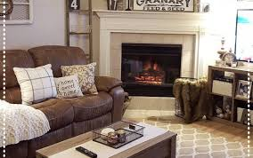 couch decor ideas furniture dark rug living decorating light sofa modern room brown silver leather rooms