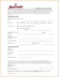 hotel credit card authorization form template by 6 hotel credit card authorization form authorization letter