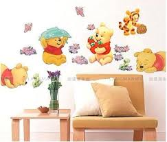 luxurious winnie the pooh wall decor for winnie the pooh nursery room wall decal decor stickers
