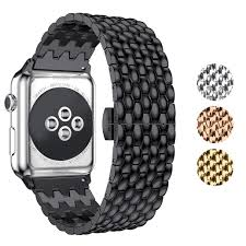 Designer Apple 4 Watch Bands Amazon Com Kwlet Stainless Steel Bands Compatible With