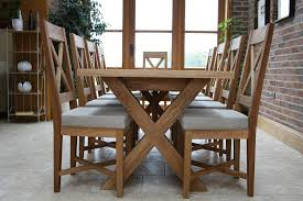 this 1 8 2 3m provence extending x leg table can seat 8 people with comfort simply stunning