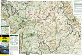 sequoia  kings canyon national park map ti    trail