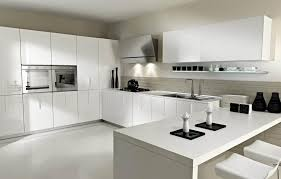 awesome white kitchen design ideas with black accents