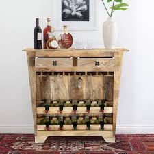 wine rack console table. Image Of: Rustic Wine Rack Console Table N