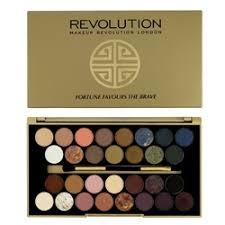makeup revolution fortune favours the brave with britishbeautyger