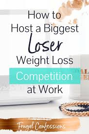 Office Weight Loss Challenge Tracker How To Host A Biggest Loser Weight Loss Competition 2019