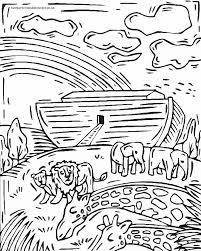 Noah Coloring Pages - GetColoringPages.com