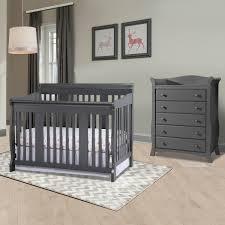 Storkcraft Tuscany 2 Piece Nursery Set Convertible Crib and