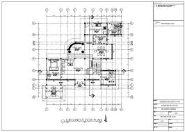 draw 2d house floor plans using autocad
