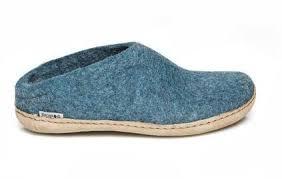 Glerup Wool Openback Slipper Men