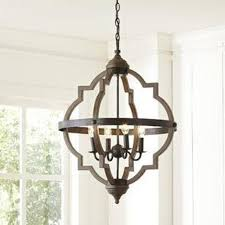 iron designer hanging chandelier