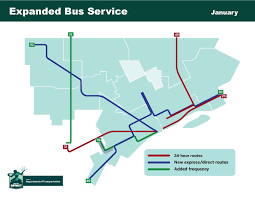 detroit department of transportation second phase of detroits city bus service expansion begins