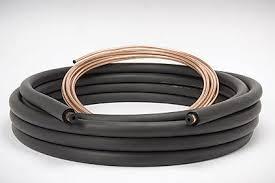 air conditioning pipe. custom length prepared 1/4\ air conditioning pipe