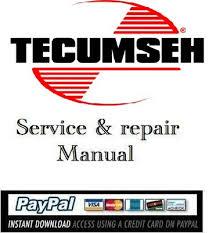 Download service manual Tecumseh 2 Cycle Engine - Download Manuals ...
