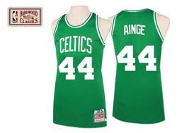 Big And Danny amp; Boston Ness Authentic Men's Mitchell Jersey Tall Green Celtics Ainge Throwback