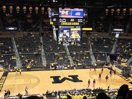 Crisler Center Section 224 Row 33 Seat 8 Michigan