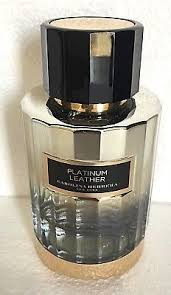 <b>PLATINUM</b> LEATHER by <b>Carolina Herrera</b> Unisex 100 ML, 3.4 fl.oz ...