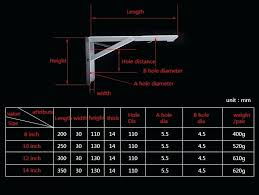 heavy duty countertop brackets wall brackets