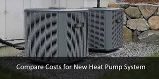 heat pump replacement cost. Brilliant Cost Compare Heat Pump System Cost On Replacement C