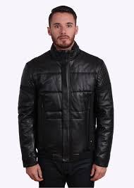 jevons leather jacket black