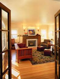 mission style decor living room craftsman with area rug armchair craftsman